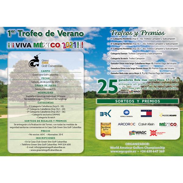 1er Trofeo verano viva mexico